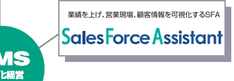 SFA「Sales Force Assistantシリーズ」
